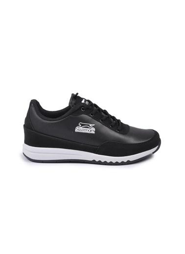 Slazenger Angle Siyah-Beyaz Kadın Spor Ayakkabı(2021) Siyah